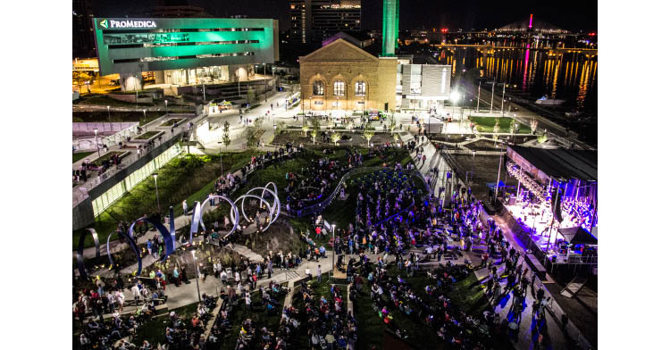 Promedica Promenade Park toledo ohio summer concerts series downtown things to do