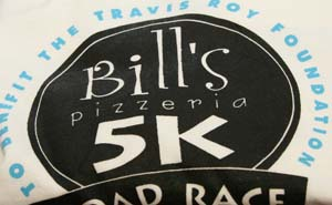 Bill's Pizzeria participates in the 5K Run to benefit The Travis Roy Foundation