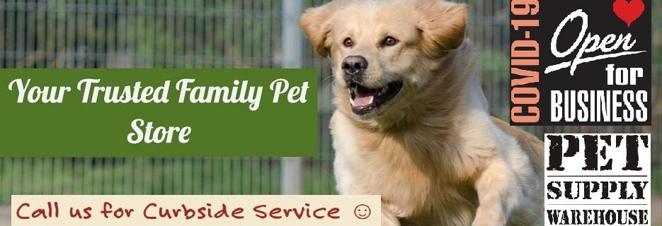 pet supply warehouse mission viejo, ca banner