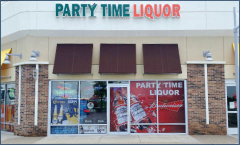 party time liquor olathe, kansas street view
