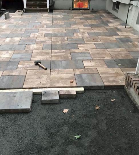 blocks, pavers, patio