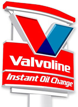 Stop in at the Valvoline Instant Oil Change sign in Laconia