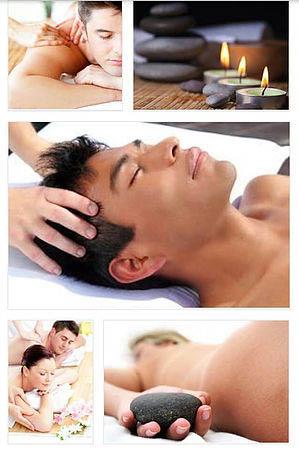 Professional hot stone massage in Woodridge
