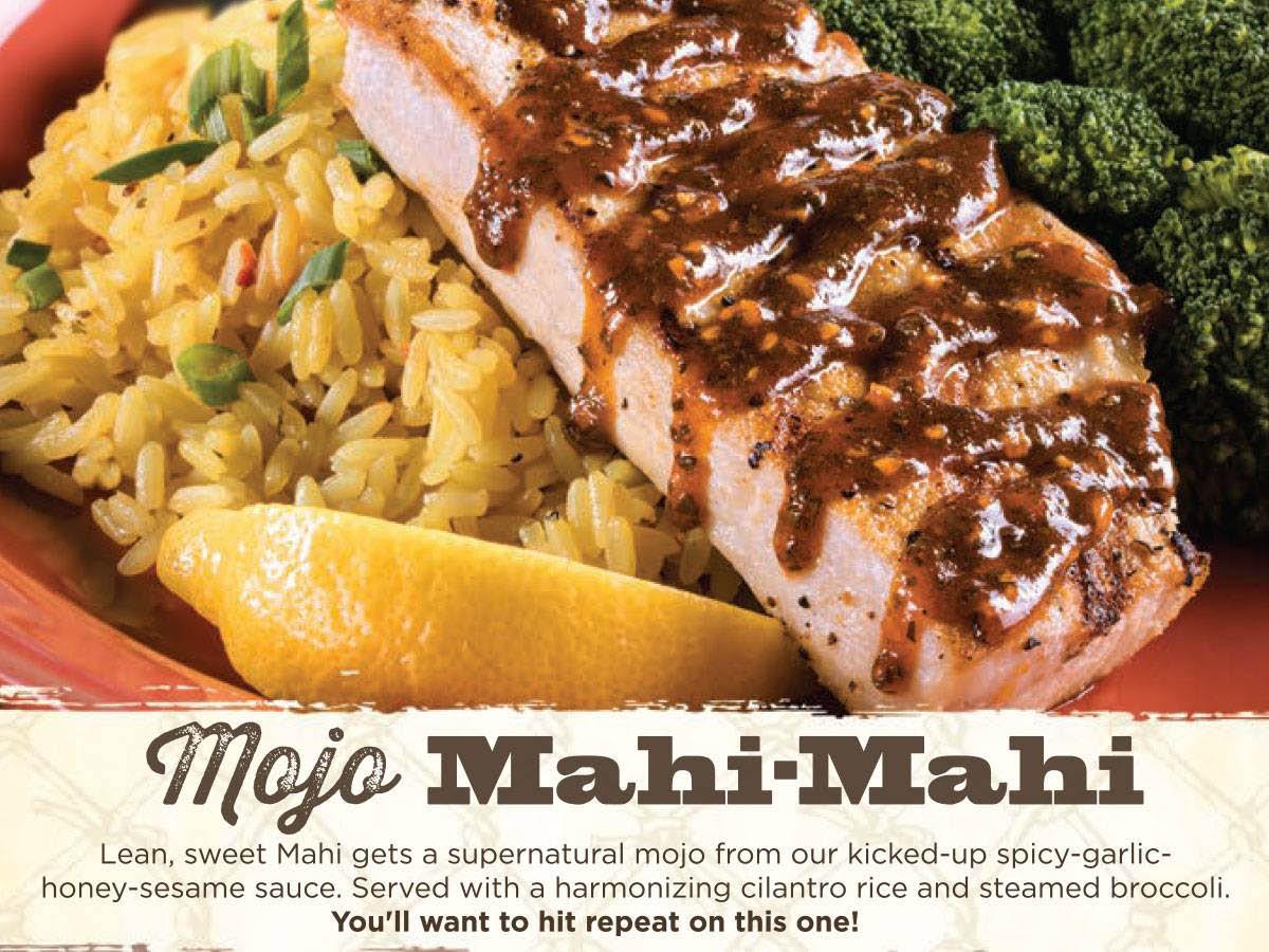 mahi mahi fish and rice