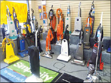 vacuums, long-lasting suction, quality, cleaning located in Woodbridge, VA