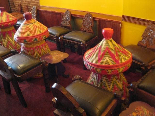 Queen of Sheba dining room