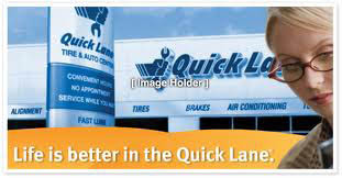 Life is better in the Quick Lane ad