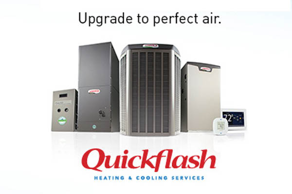 Quickflash Heating saving you money with a new furnace.