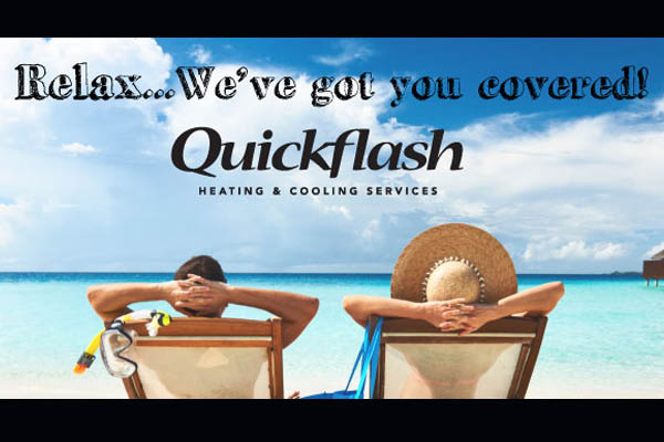 Relax with Quickflash peace of mind service plans