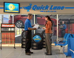 Let's talk tires at Quick Lane Tire & Auto Center in Indio