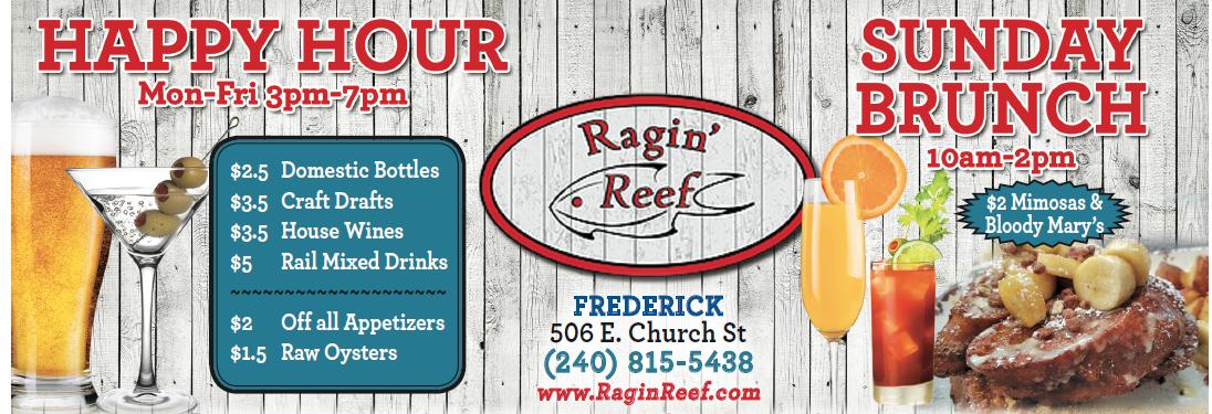 ragin reef downtown frederick seafood restaurant