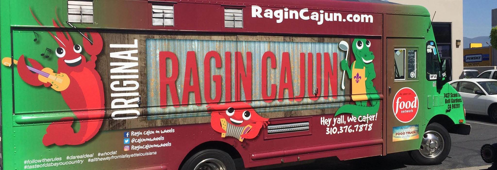 Original Ragin Cajun on Hermosa Beach, CA banner