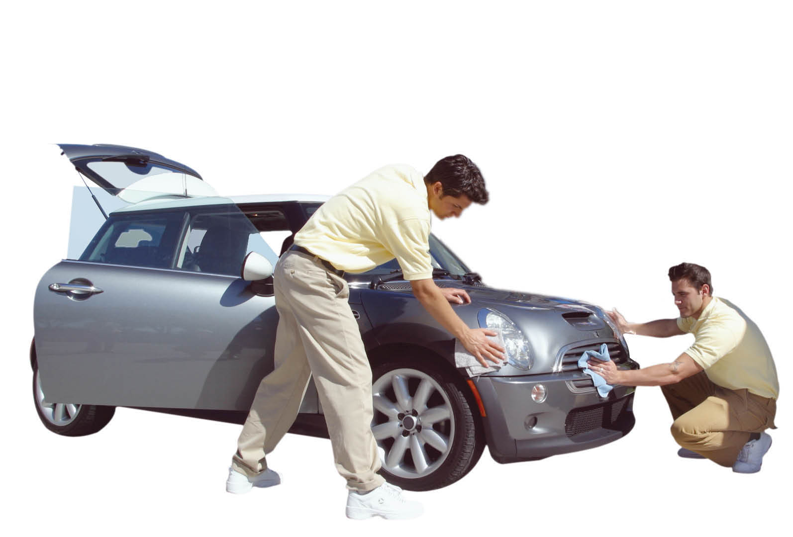 Get a thorough hand-toweled dry down of your vehicle