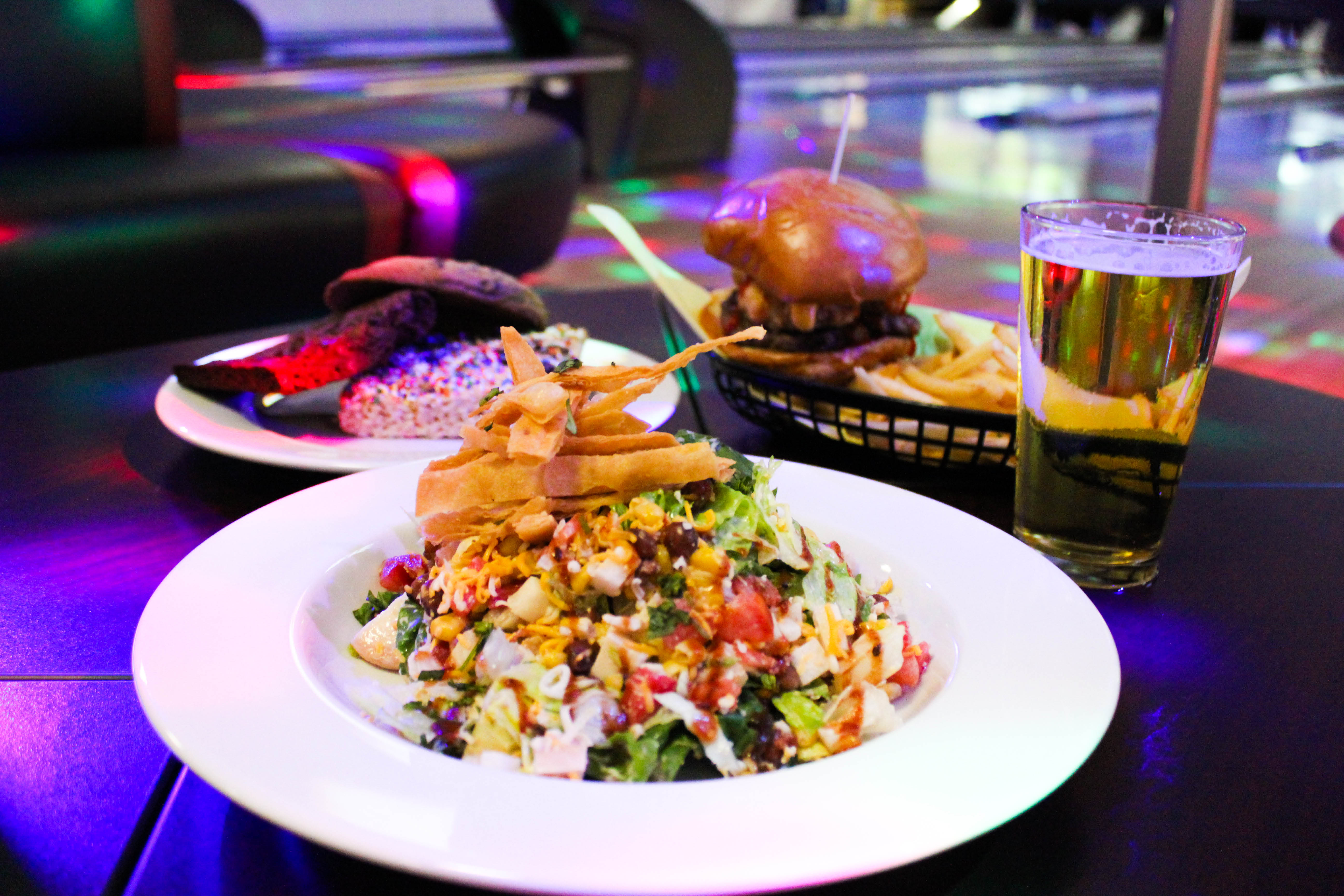 Delicious food and quality mixed drinks at Rancho Bowl restaurant and bar