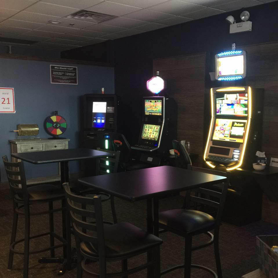 Video gaming machines by T's Gaming for Randi's Deli.
