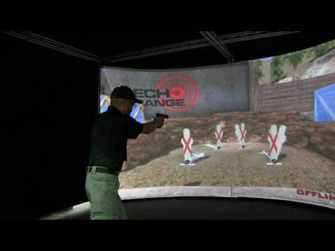 Latest Laser Hit Detection Technology. Realistic Simulator Experience