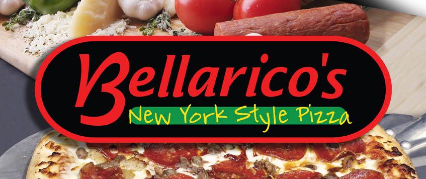 Bellarico's New York Style Pizza Logo