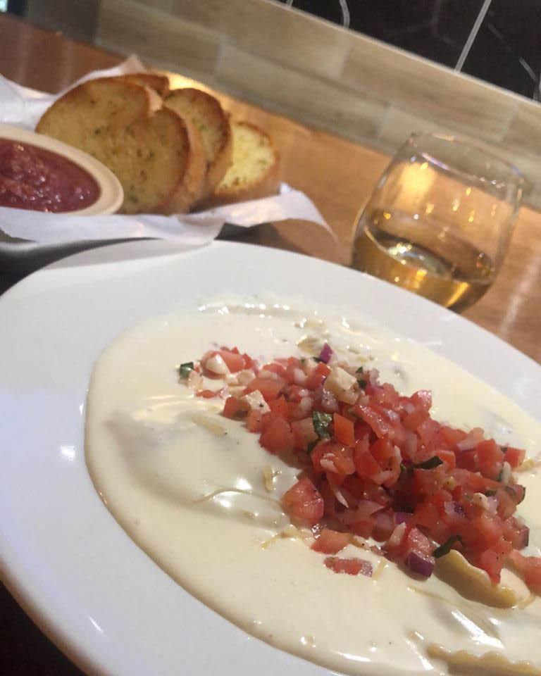 Creamy Ravioli Pasta Marsel's Italian Restaurant Milwaukee