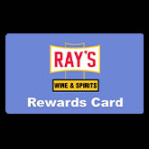 Ray's Wine and Spirits Rewards Card