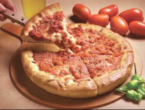 Deep dish pizza near Hoffman Estates