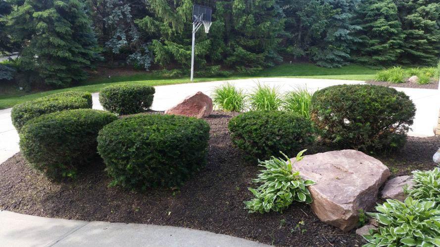 Landscape design near Elkhorn