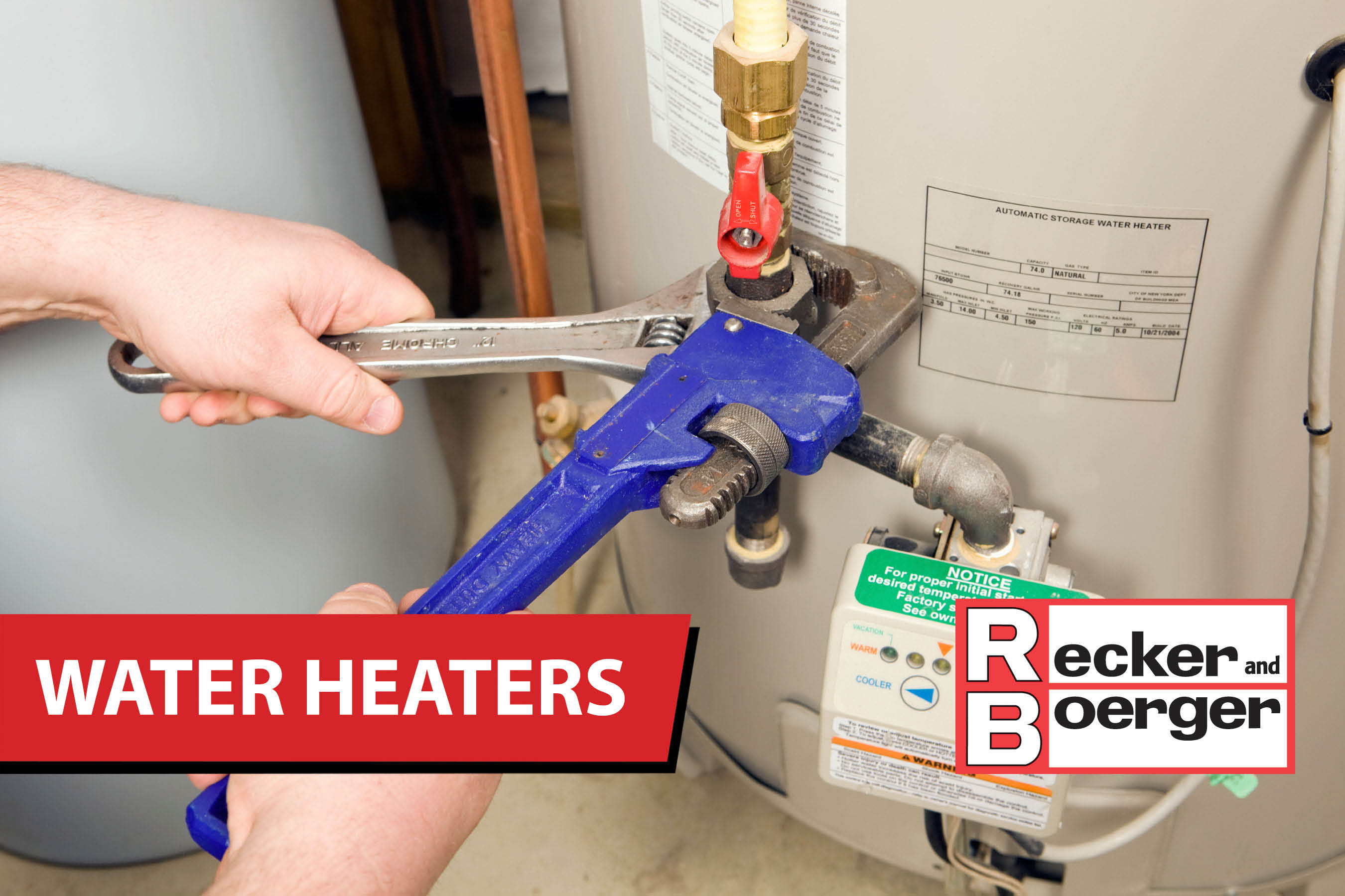 water heaters from recker and boerger