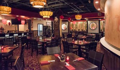 Red Sun Chinese Cuisine Fine Dining Room Rochester NY Shanghai Restauran