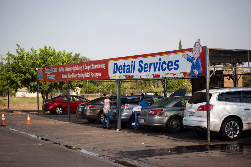 red carpet car wash detail station gets your car squeaky clean