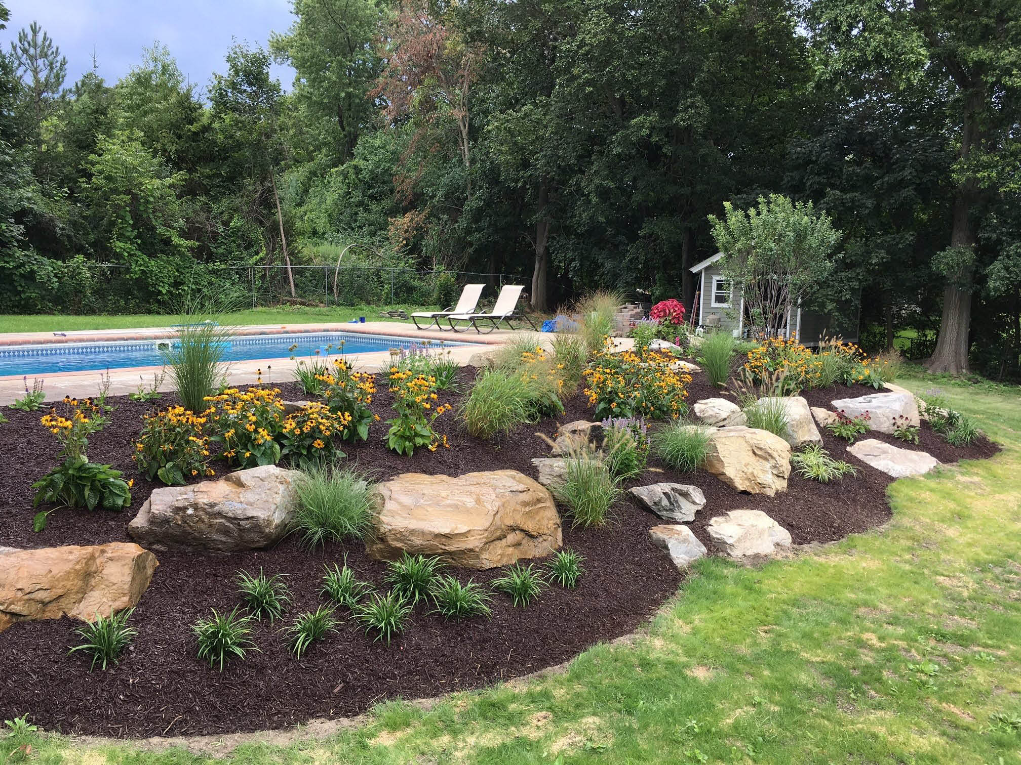Landscape design performed by Red Cedar Arborists & Landscapers in Putnam County, NY