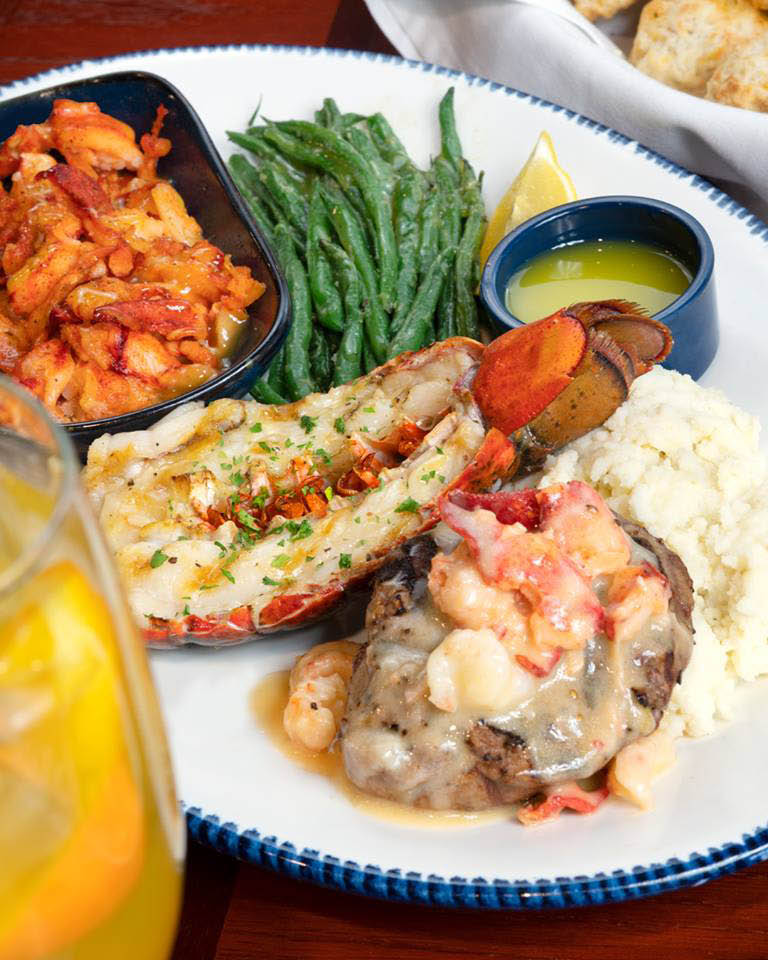 Create your own combination platter at Red Lobster in Palm Desert CA