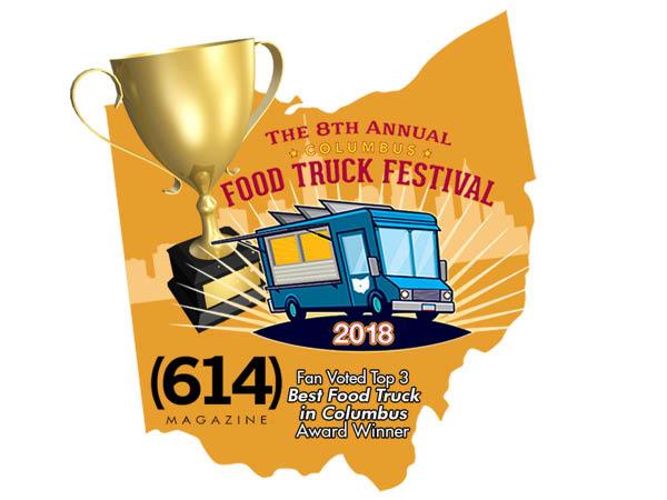 Redwood Wagon Food Truck best food truck in Columbus, Ohio top 3 award