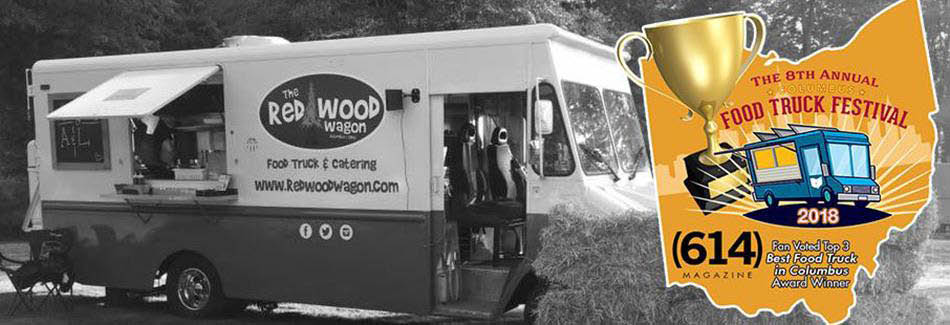 Redwood Wagon Food Truck Banner