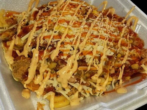 Redwood Wagon Food Truck bbq bowl
