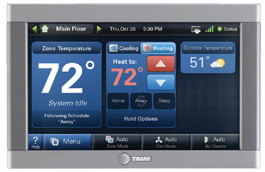 digital thermostat Reliable Heating & Air, Plumbing & Electrical atlanta GA