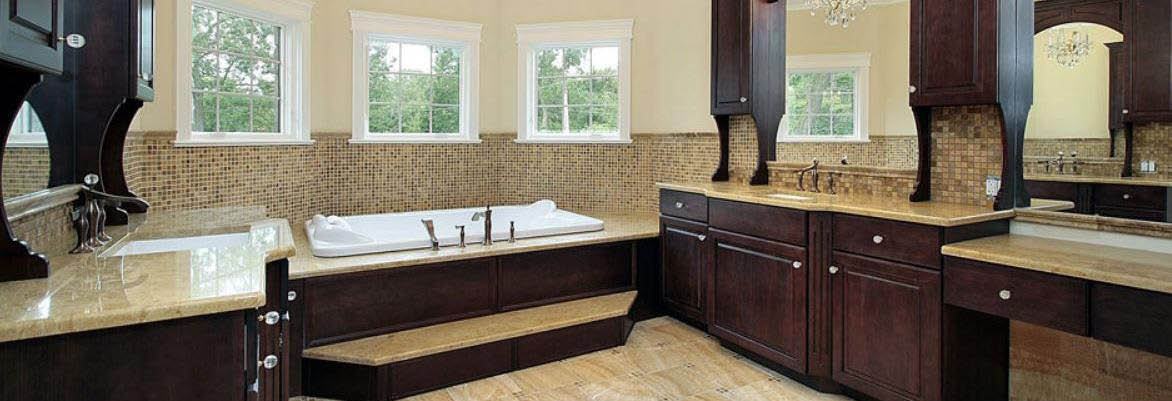 Bathroom renovations by Your Town Construction