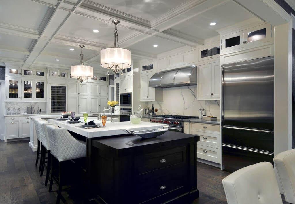 Kitchen remodel, interior lighting near Des Plaines