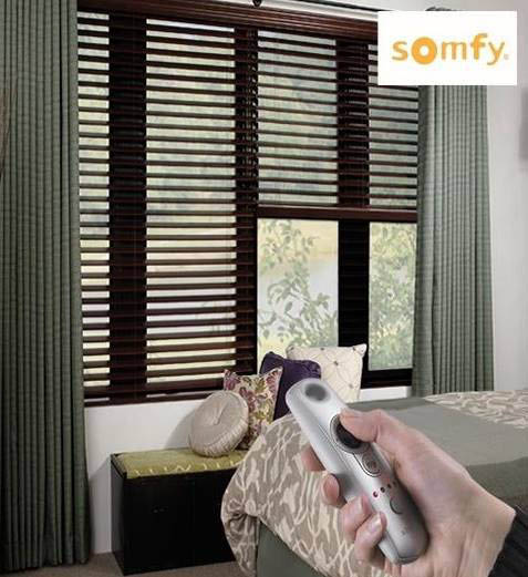 remote controlled blinds, budget blinds of king george