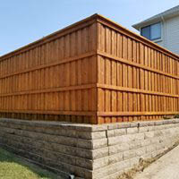 Pressure cleaning and protecting of wood fence - San Luis Obispo, CA