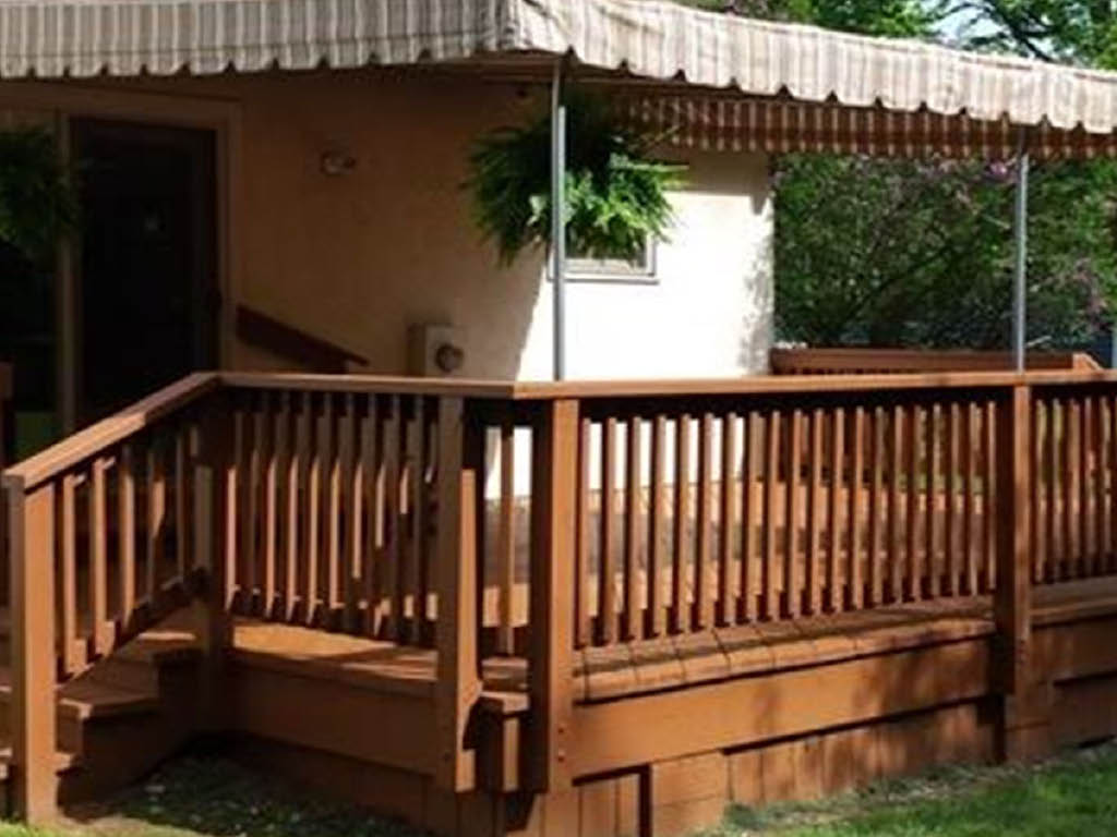 Repaint LLC deck painting