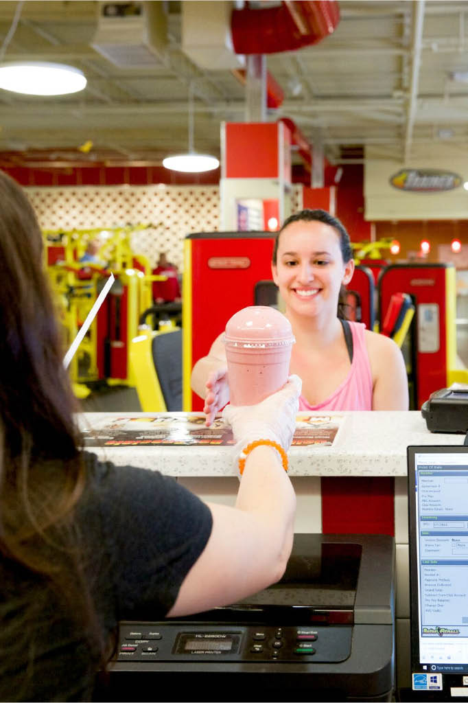 Smoothie Bar available at Retro Fitness in Florham Park NJ
