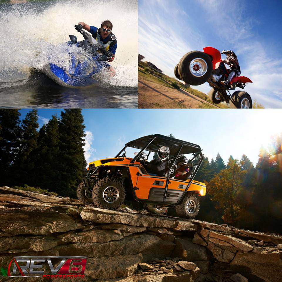 Rev 6 Powersports coupons, ATV, Boat, Jet Ski Rental Coupons, ATV,Boat,Jet Ski Repair coupons.