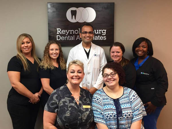 Reynoldsburg Dental Associates team