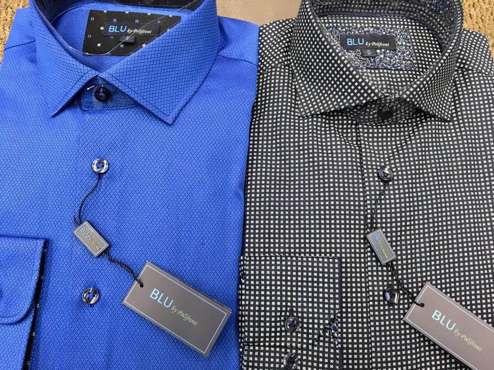 Polifroni BLU dress shirts in slim and regular fits