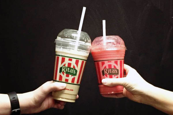 Rita's Italian Ices frozen treats.