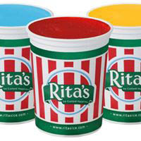 Rita's Frozen Ice in 65 real fruit flavors