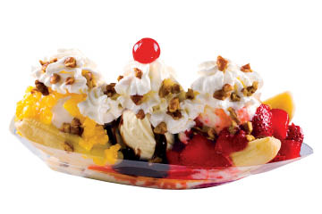 Ritters Frozen Custard, Indianapolis, IN frozen ice cream custard yogurt cone dish cake pie