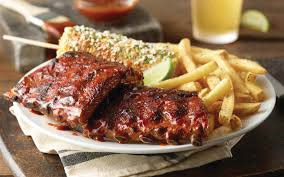 barbecue ribs, fries; bar and grill; Central Pennsylvania