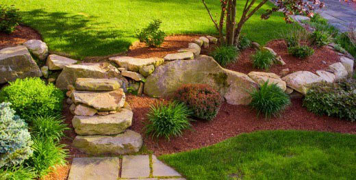 We work on all types of Georgia home landscapes