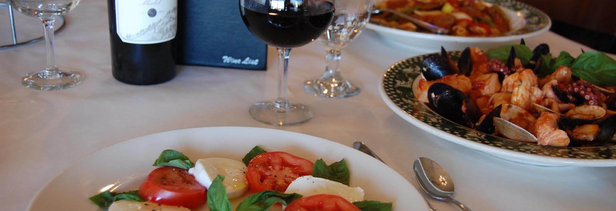 RoccoVino's Italian Restaurant in Orland Park, IL banner