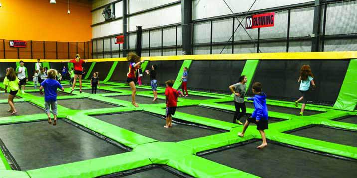 fun fitness for kids; trampolines; summer activities at ROCKIN' JUMP in Smyrna, GA.